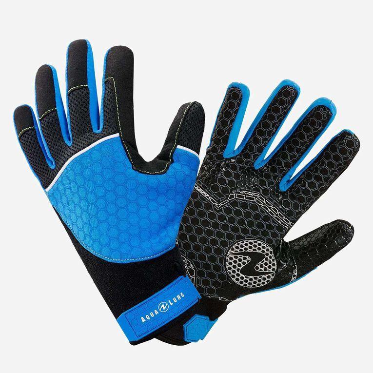 Velocity Gloves, Bleu/Noir, hi-res image number 0