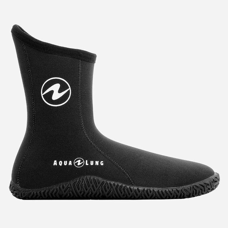 5mm Echozip Boots, Noir/Bleu, hi-res image number 1