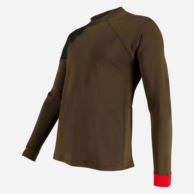 Xscape Rashguard Loose fit Long sleeves - Men, Vert foncé/Rouge, hi-res image number 2