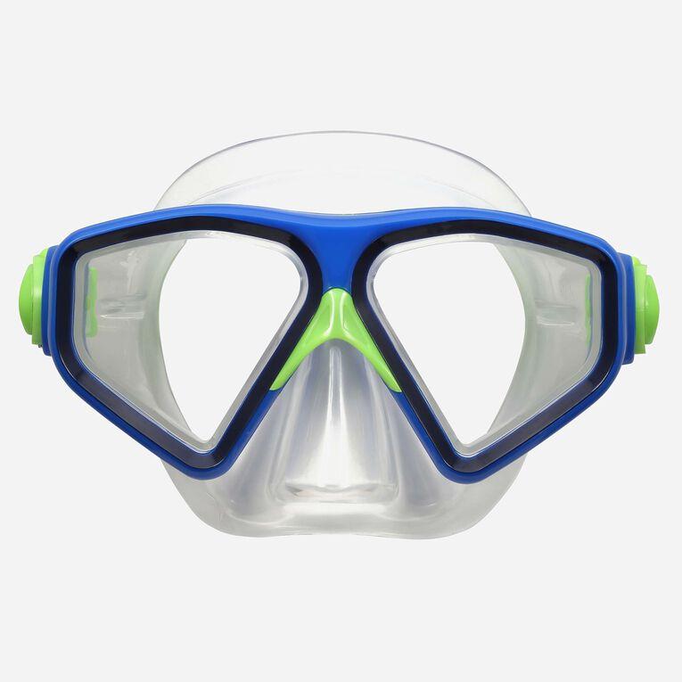 Saturn Snorkeling mask, Bleu marine/Bleu clair, hi-res image number 1