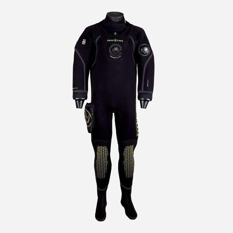 Blizzard Pro Drysuit, Noir/Vert citron, hi-res image number 0