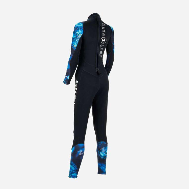 HydroFlex Coral Guardian 3mm Wetsuit Women, Noir/Bleu, hi-res image number 3