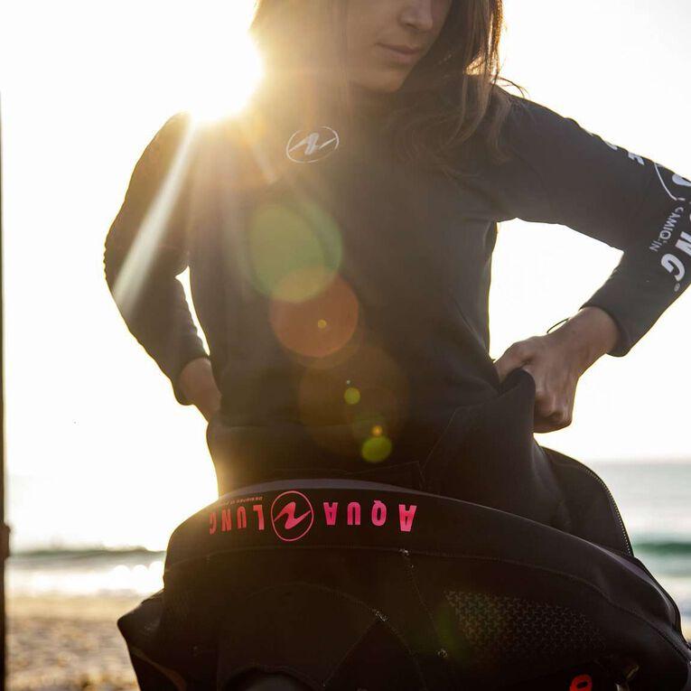 Blizzard Pro Drysuit, Noir/Corail, hi-res image number 4