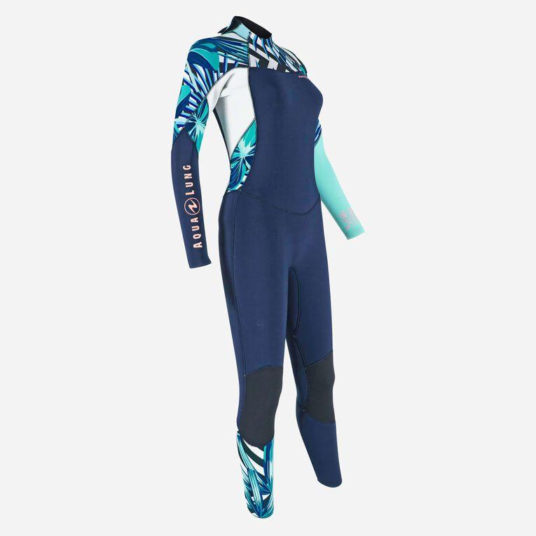 Xscape 4/3mm Wetsuit - Women, Bleu marine/Multicolore, hi-res image number 1