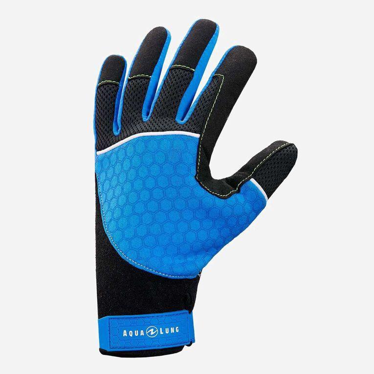 Velocity Gloves, Bleu/Noir, hi-res image number 1