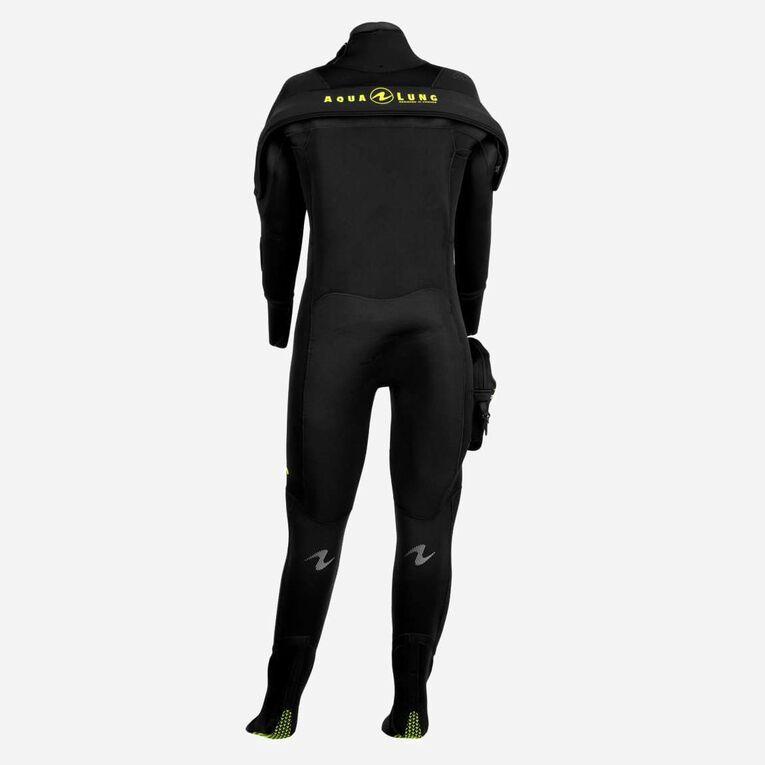 Blizzard Pro Drysuit, Noir/Vert citron, hi-res image number 1