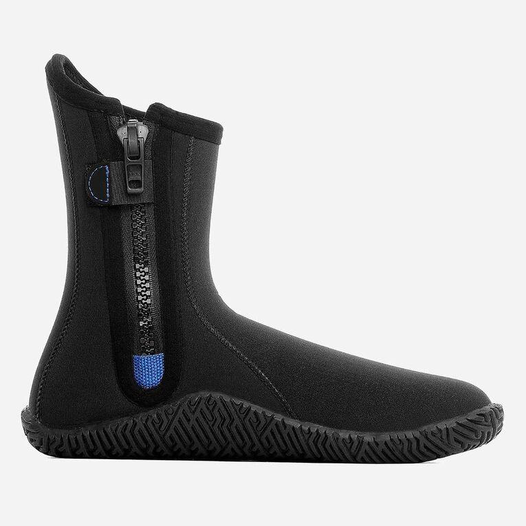 5mm Echozip Boots, Noir/Bleu, hi-res image number 2