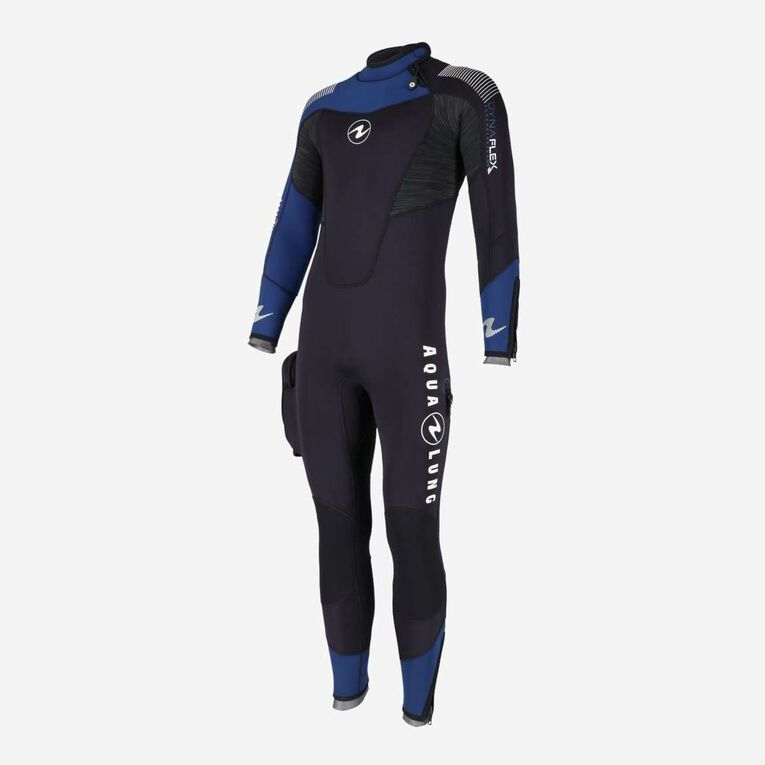 DynaFlex 5.5mm Wetsuit Men, Noir/Bleu marine, hi-res image number 1