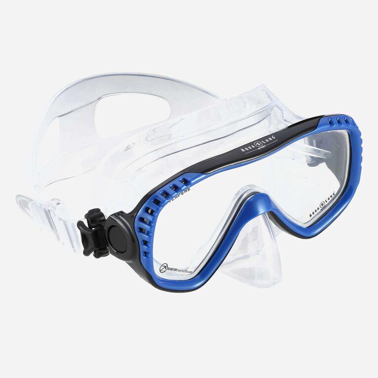 Compass Snorkeling mask, Bleu/Noir, hi-res image number 0