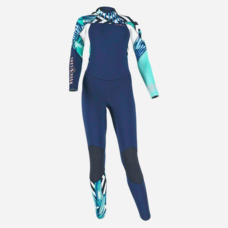 Xscape 4/3mm Wetsuit - Women, Bleu marine/Multicolore, hi-res image number 0
