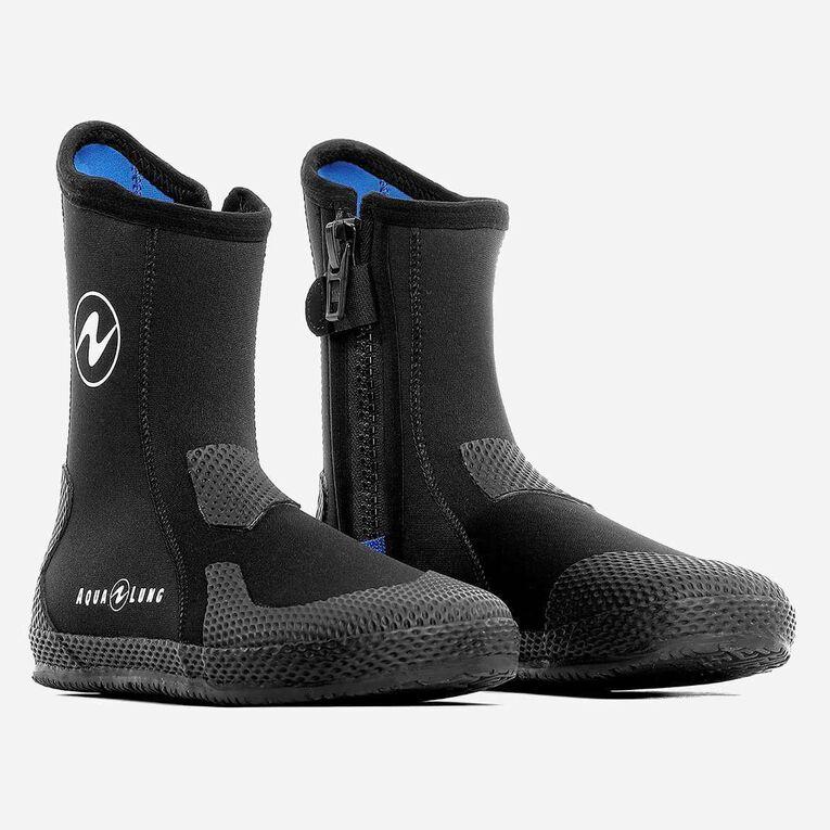 3mm Superzip Boots, Noir/Bleu, hi-res image number 0