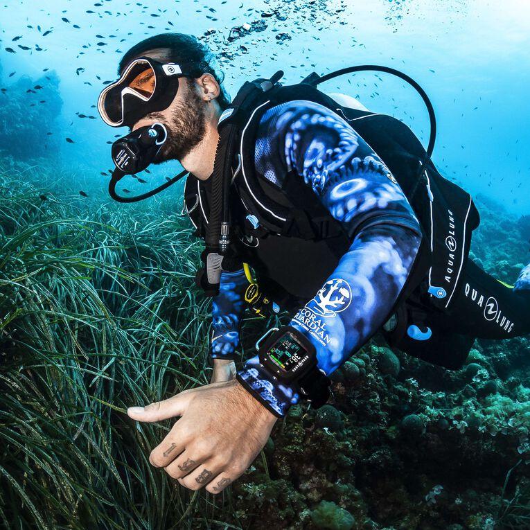 HydroFlex 3mm Coral Guardian Wetsuit Men, Noir/Bleu, hi-res image number 4