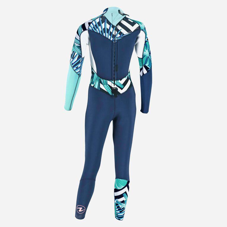 Xscape 4/3mm Wetsuit - Women, Bleu marine/Multicolore, hi-res image number 3