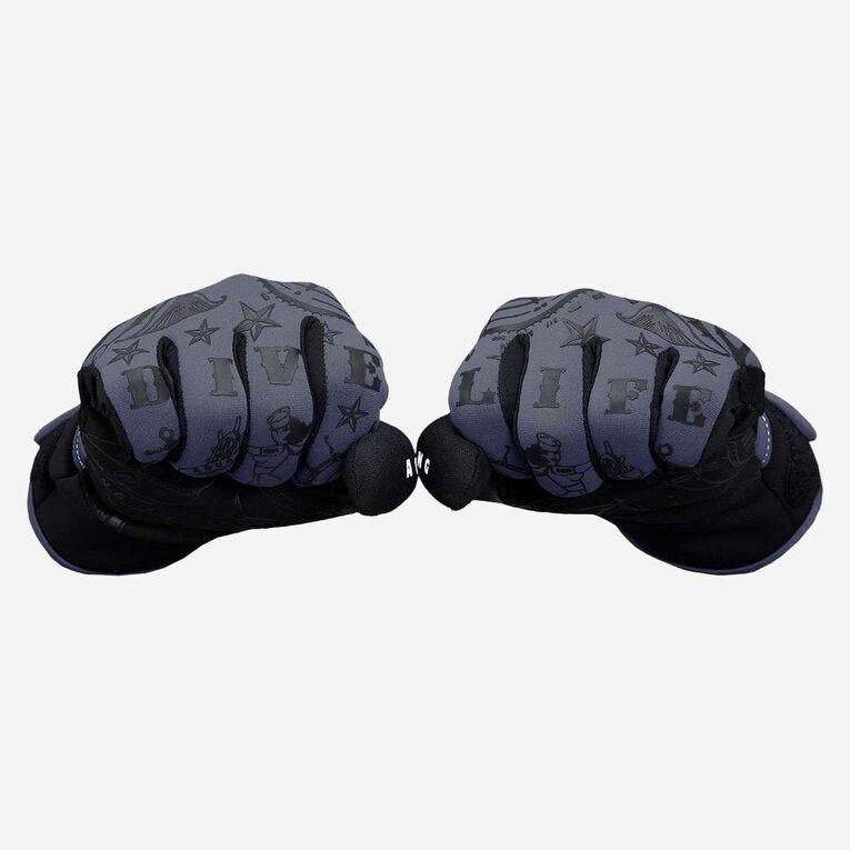 Admiral III 2mm Gloves, Gris foncé/Noir, hi-res image number 1