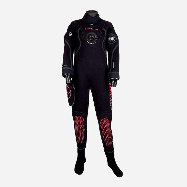 Blizzard Pro Drysuit, Noir/Corail, hi-res image number 0