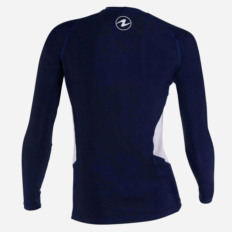 Rashguard Loose fit Long sleeves - Women, Bleu marine/Blanc, hi-res image number 3