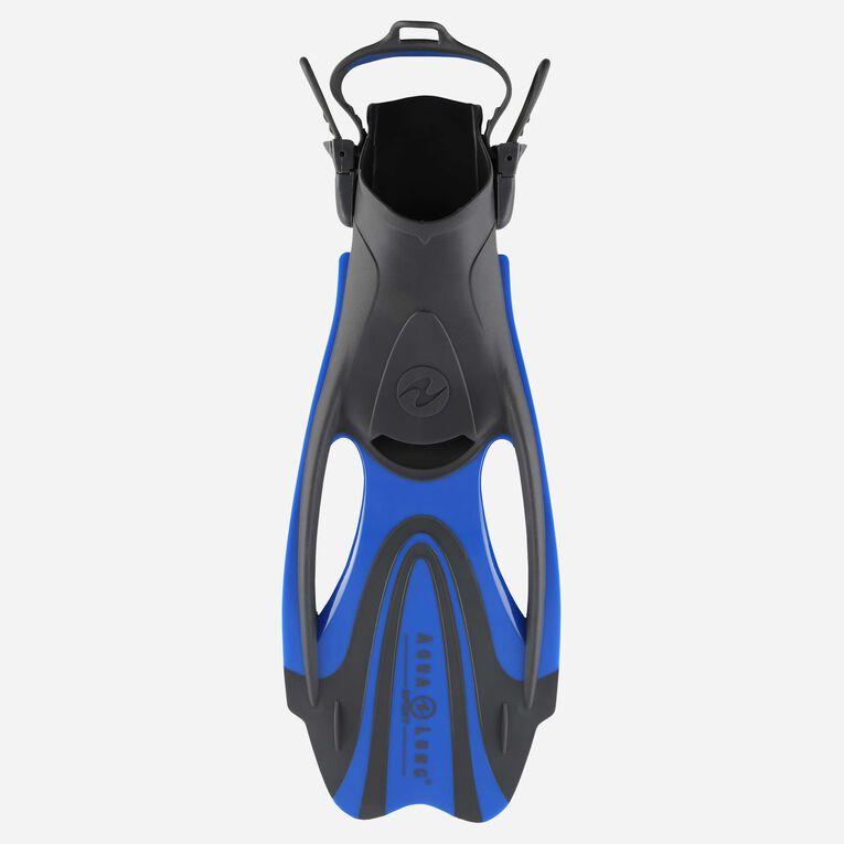 Zinger Snorkeling Fins, Gris/Bleu clair, hi-res image number 0