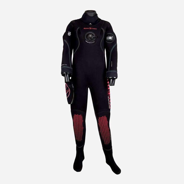 Blizzard Pro Drysuit, Noir/Corail, hi-res image number null