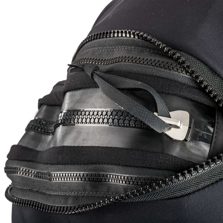 Fusion Bullet Drysuit, Noir/Blanc, hi-res image number 1