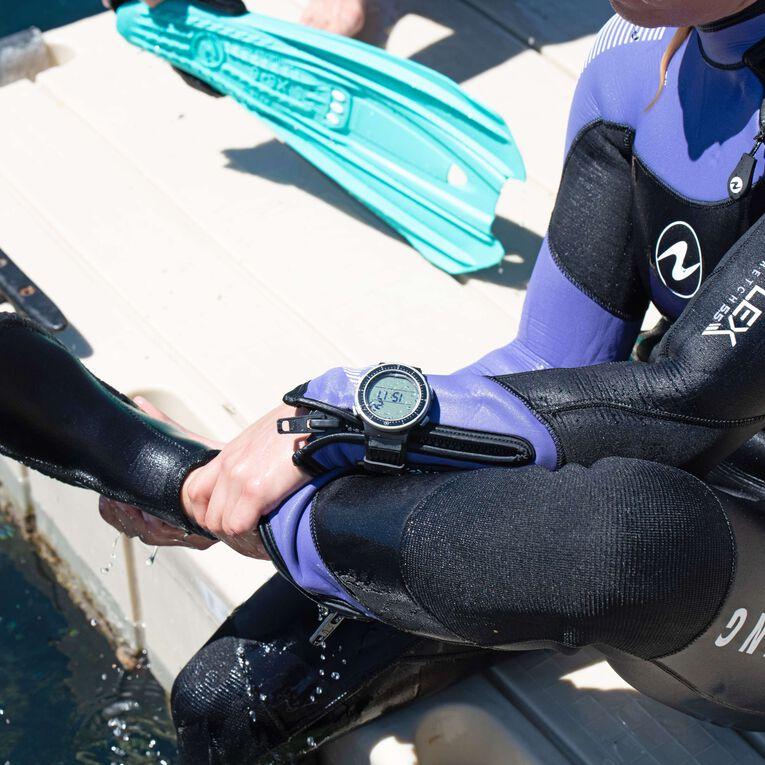 DynaFlex 7mm Wetsuit Women, Noir/Violet, hi-res image number 5