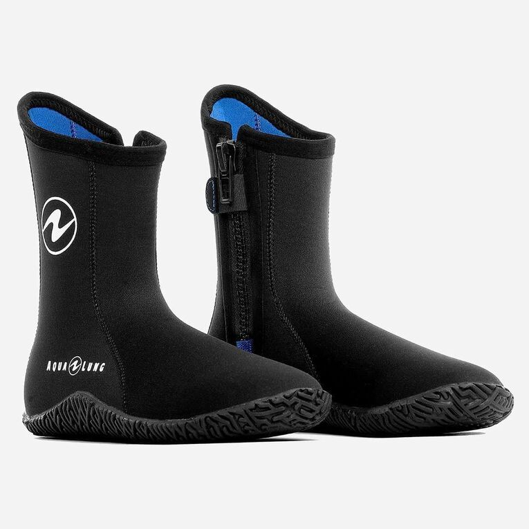 5mm Echozip Boots, Noir/Bleu, hi-res image number 0