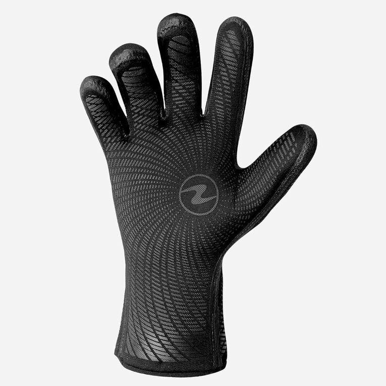 3mm Liquid Grip Gloves, Noir/Bleu, hi-res image number 2