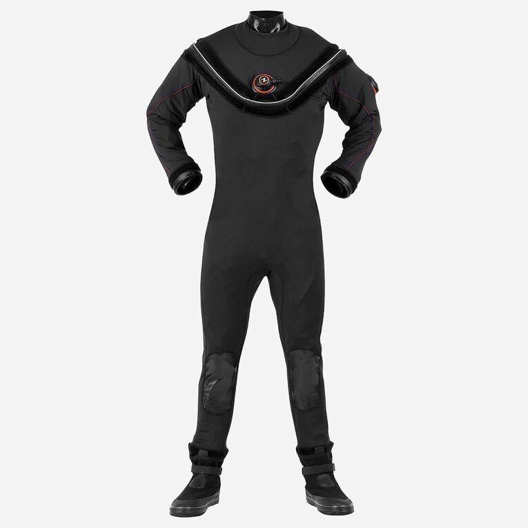 Fusion Sport Drysuit, Noir/Orange, hi-res image number 0