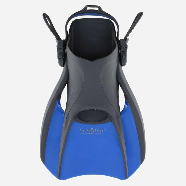 Bolt Travel Snorkeling Fins, Bleu/Noir, hi-res image number 0