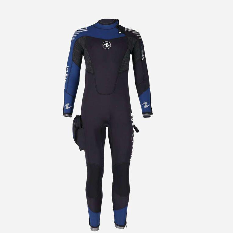 DynaFlex 7mm Wetsuit Men, Noir/Bleu marine, hi-res image number 1
