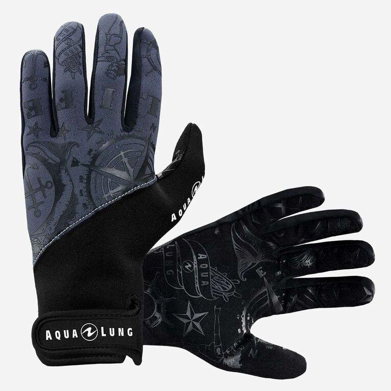 Admiral III 2mm Gloves, Gris foncé/Noir, hi-res image number 0