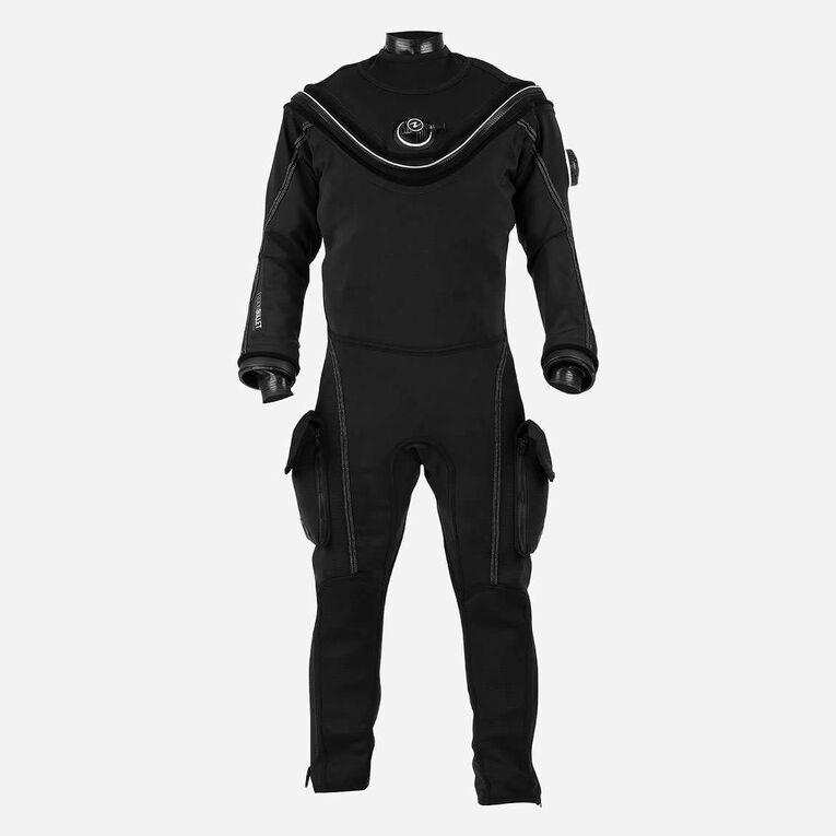 Fusion Bullet Drysuit, Noir/Blanc, hi-res image number 0