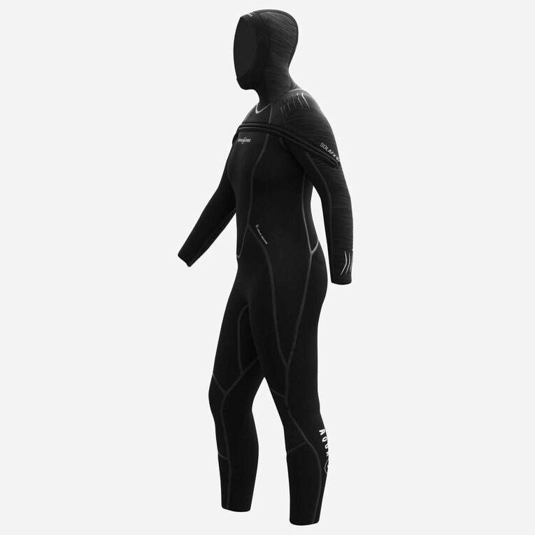 SolAfx 8/7mm Wetsuit Women, Noir, hi-res image number 3