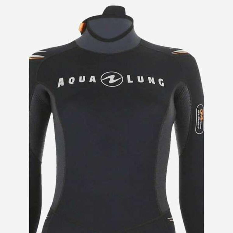 Dive 5,5mm Wetsuit, Noir/Orange, hi-res image number 3