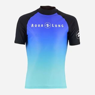Gradient Rashguard - Short Sleeve Men