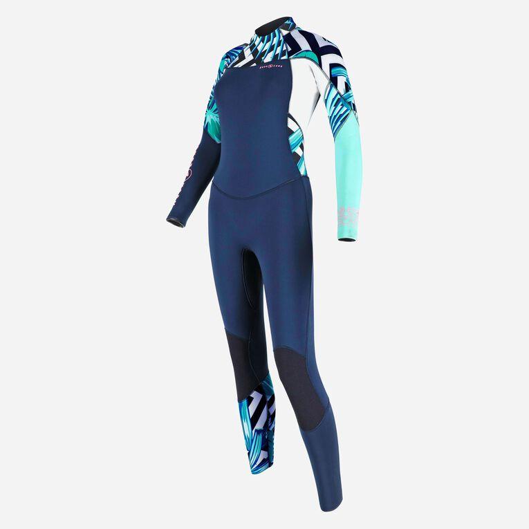 Xscape 4/3mm Wetsuit - Women, Bleu marine/Multicolore, hi-res image number 2