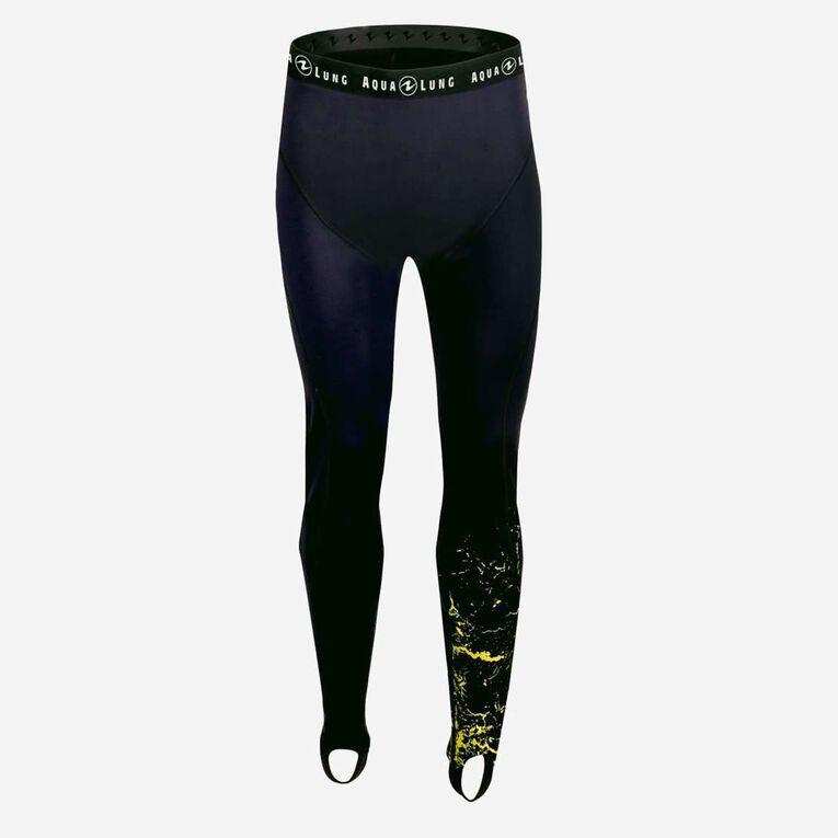 CeramiQskin Pants Men, Noir/Vert citron, hi-res image number 0
