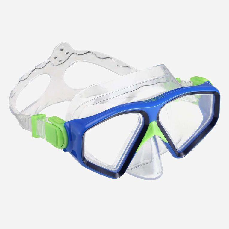 Saturn Snorkeling mask, Bleu marine/Bleu clair, hi-res image number 0