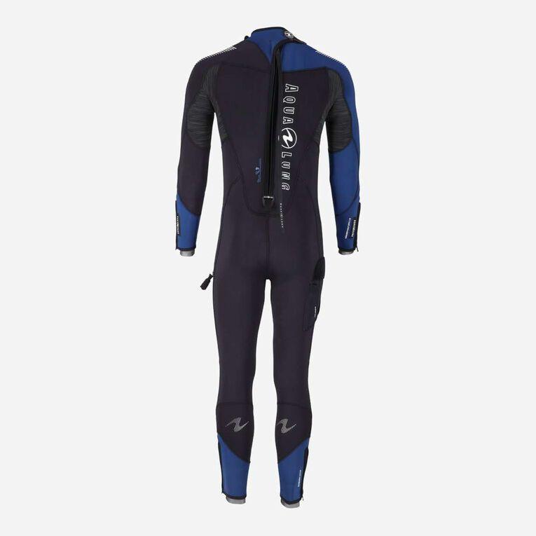 DynaFlex 5.5mm Wetsuit Men, Noir/Bleu marine, hi-res image number 2